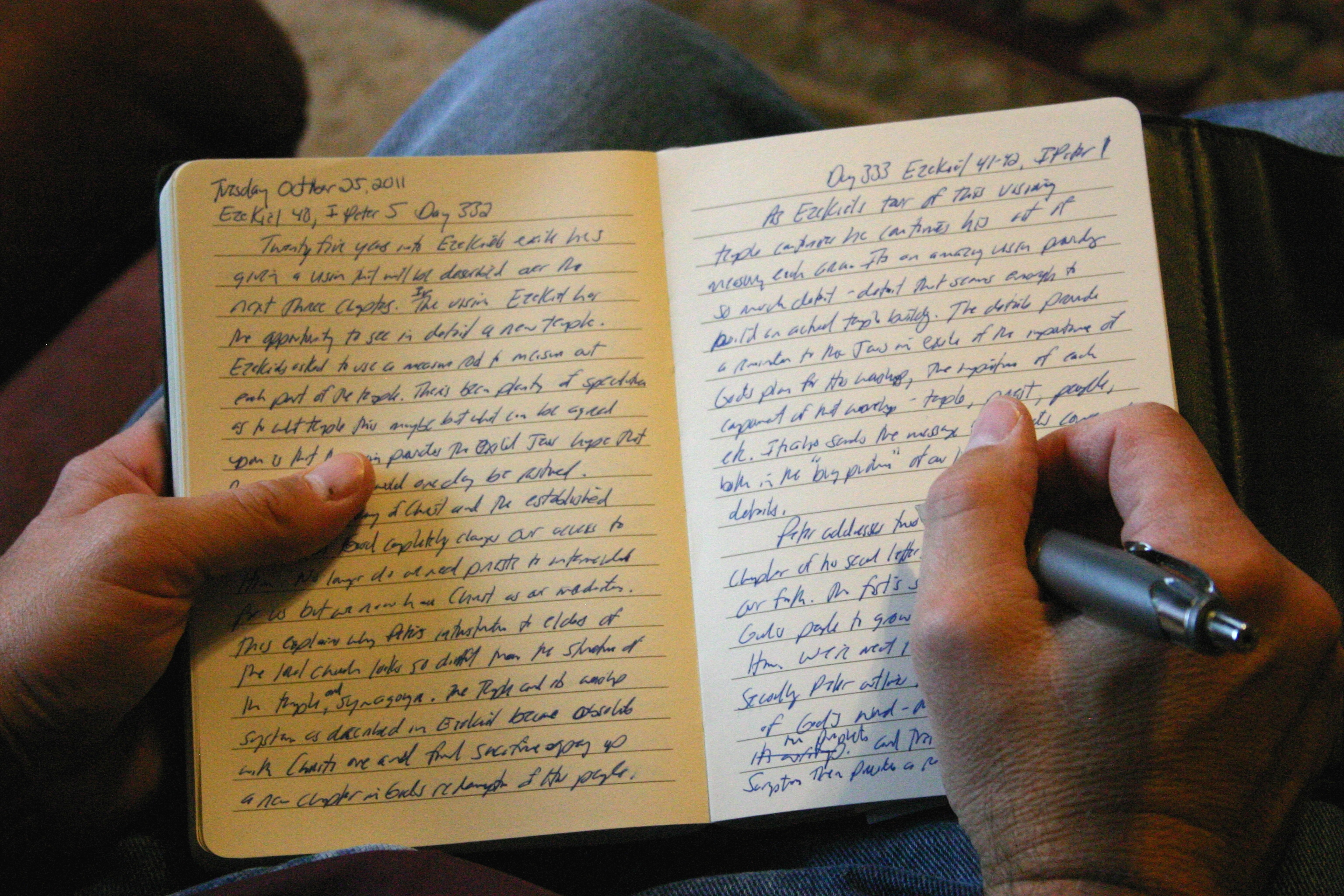 How to Keep a Spiritual Journal photo