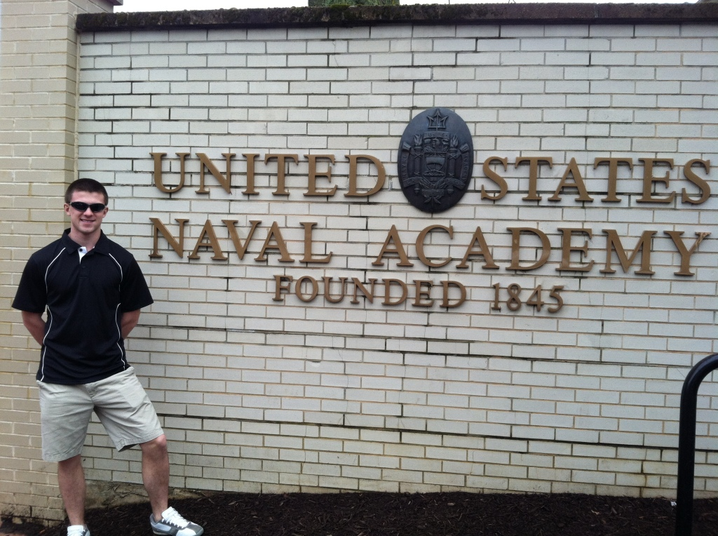 Mitch at US Naval